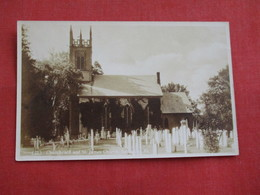RPPC Church Yard & St James Church  Arlington Vermont    Ref 2809 - United States
