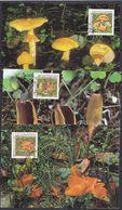 Liechtenstein 1997 Fungi / Mushrooms 3v 3 Maxicards (37333) - Maximum Cards