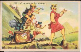 CORDOBA OH EL ENCANTO DE LAS SIERRAS CPA CIRCA 1945 TRES BON ETAT DOS DIVISE RARE HUMOUR HUMOR - Humour