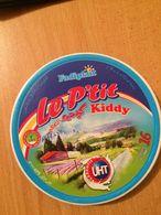 """ÉTIQUETTE DE BOITE DE FROMAGE- """"LE P'TIT KIDDY""""- 16 P - Fromage"""