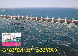 D32467 CARTE MAXIMUM CARD FD 2016 NETHERLANDS - OOSTERSCHELDEKERING DELTAPLAN ZEELAND CP ORIGINAL - Maximum Cards