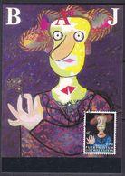 Liechtenstein 1997 Hommage An Liechtenstein / Enrico Baj 1v Maxicard (37334) - Maximum Cards