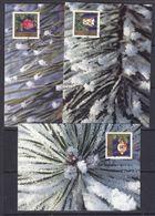 Liechtenstein 1997 Christmas 3v 3 Maxicards  (37335) - Maximum Cards