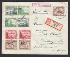 DR Einschreiben  Zusammendruck WH Vignette Wie Lage Noch Ohne Kolonien1933 Rheinfelden Nach Freiburg K938 - Deutschland