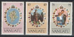 Vanuatu - YT 628-630 ** - 1981 - Vanuatu (1980-...)
