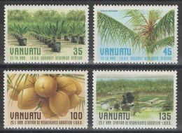 Vanuatu - YT 759-762 ** - 1987 - Vanuatu (1980-...)