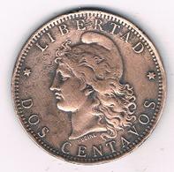 2 CENTAVOS 1889 ARGENTINIE /17G/ - Argentina