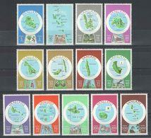 Vanuatu - YT 596-608 ** - 1980 - Vanuatu (1980-...)