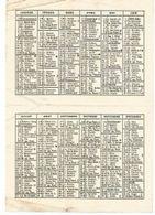 Calendrier 1961  Oeuvre De ST François De Sales - Calendars
