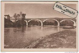 30 Saint-Ambroix - Cpa / Le Pont De St-Victor - Saint-Ambroix