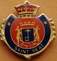 Z  311  )....BLASON...../........SAINT  BEAT....... Département De La Haute-Garonne Et La Région Occitanie. - Cities