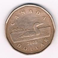 1 DOLLAR 2008 CANADA /23G/ - Canada