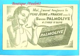 BUVARD :Savon Palmolive Jeune Fille - Perfume & Beauty