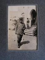Ancien Album Photo Photographie Voyage Maroc Ww1 1916-1918 Soldat General Marechal Joffre ? Militaires A Voir - Guerre, Militaire