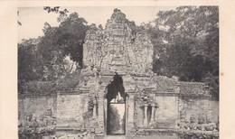 Cambodge - Ruines D' Angkor Thom - Porte Est Dite De La Victoire - Edition Nadal Saïgon - Cambodia
