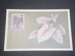 WALLIS & FUTUNA - Carte Maximum 1996 Fleurs - L 12267 - Maximum Cards