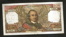 FRANCE - BANQUE De FRANCE - 100 FRANCS Corneille (C. 5 - 10 - 1972) - 1962-1997 ''Francs''