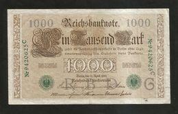 DEUTSCHES REICH / GERMANY - Reichsbanknote 1000 MARK ( Berlin 1910 ) - [ 2] 1871-1918 : German Empire