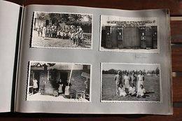 Album 636 Foto Militaria Colonie Etiopia Felizzano Campo DUX Anni '30 RARITA' - Foto