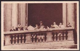 1929 Italia Italy Regno CONCILIAZIONE TRA L'ITALIA E IL VATICANO Pio XII° A San Pietro Cartolina Postcard - Non Classificati