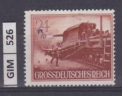 GERMANIA IMPERO, 1944Giornata Degli Eroi, 24 Pf, Nuovo Senza Gomma - Duitsland