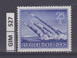 GERMANIA IMPERO, 1944Giornata Degli Eroi, 25 Pf, Nuovo Senza Gomma - Duitsland