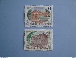 1988 Polynésie Française Yvert  322/3 **  La Poste  Scott 501/2  Michel 521/2  SG 551/2 - Neufs