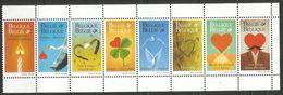 Belgium - 1999 Greetings Strip MNH **    Sc 1723a - Unused Stamps