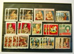USA - Christmas & Greetings 30 Stamps - Sammlungen
