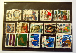 USA - Christmas & Greetings 32 Stamps - Sammlungen