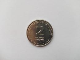 2 Neue Sheqalim Münze Israel 2008 (vorzüglich) - Israel