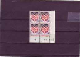 N° 1352 - 0,05F Blason D'AMIENS - I De I+J - 1° Tirage Du 16.3.65 Au 14.4.65 - 8.04.1965 - - 1960-1969