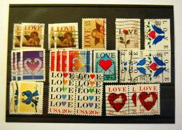 USA - Love 26 Stamps - Sammlungen