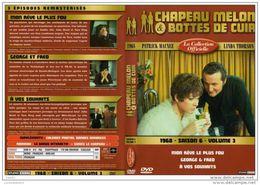 DVD CHAPEAU MELON ET BOTTES DE CUIR  SAISON 6 VOL 3  Port 110 Gr Ou 30gr - TV Shows & Series