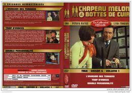 DVD CHAPEAU MELON ET BOTTES DE CUIR SAISON 6 VOL 1 Port 110 Gr Ou 30gr - TV Shows & Series