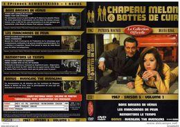 DVD CHAPEAU MELON ET BOTTES DE CUIR Saison 5 Vol 1 Port 110 Gr Ou 30gr - TV Shows & Series