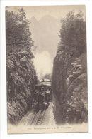 19133 - Brünigbahn Passhöhe Train - LU Lucerne