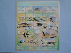 1989 Saint Vincent  Yvert   1097/21 ** Oiseaux Birds Animals  Michel  1167/91 SG 1187/11 Arche De Noé Specimen - St.Vincent (1979-...)