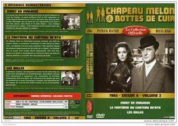 DVD CHAPEAU MELON ET BOTTES DE CUIR SAISON 4 VOL 2 Port 110 Gr Ou 30gr - TV Shows & Series