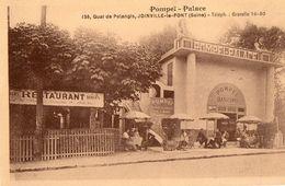 CPA JOINVILLE LE PONT. Dancing Pompéi Palace, Sur La Marne. - Restaurants