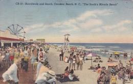 CAROLINA BEACH / BOARD WALK AN BEACH - Carolina Beach