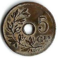 Pièce De Monnaie 5 Cents 1902 - 1865-1909: Leopold II