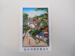 Honduras  Moutain Village Scene - Honduras