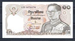 550-Thailande Billet De 10 Baht 1980 4E107 Neuf - Thailand