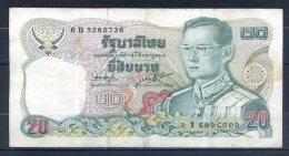506-Thailande Billet De 20 Baht 1981 6B526 Sig.54 - Thaïlande