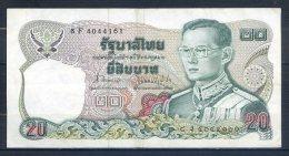 506-Thailande Billet De 20 Baht 1981 8F404 Sig.62 - Thailand
