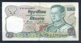 506-Thailande Billet De 20 Baht 1981 9B264 - Thaïlande