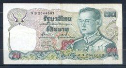 506-Thailande Billet De 20 Baht 1981 9B264 - Thailand