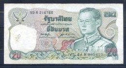 506-Thailande Billet De 20 Baht 1981 59R216 Sig.53 - Thaïlande