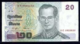 376-Thailande Billet De 20 Baht 2003 2C162 Commémoratif - Thailand